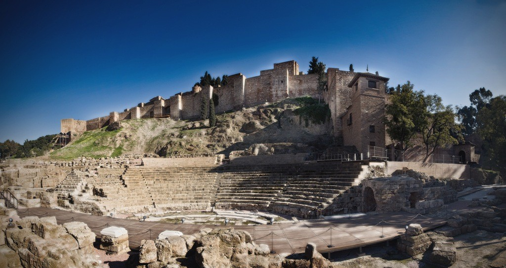 02 teatro-romano Malaga